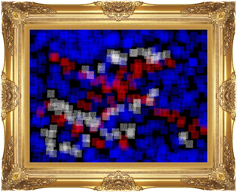 Lora Ashley Understanding with Majestic Gold Frame