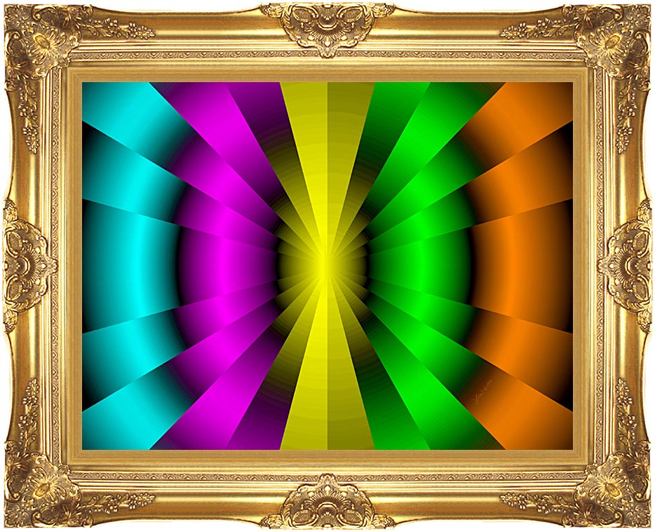 Lora Ashley Balanced Motion with Majestic Gold Frame