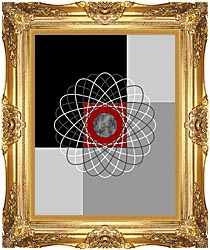 Lora Ashley Nucleus canvas with Majestic Gold frame