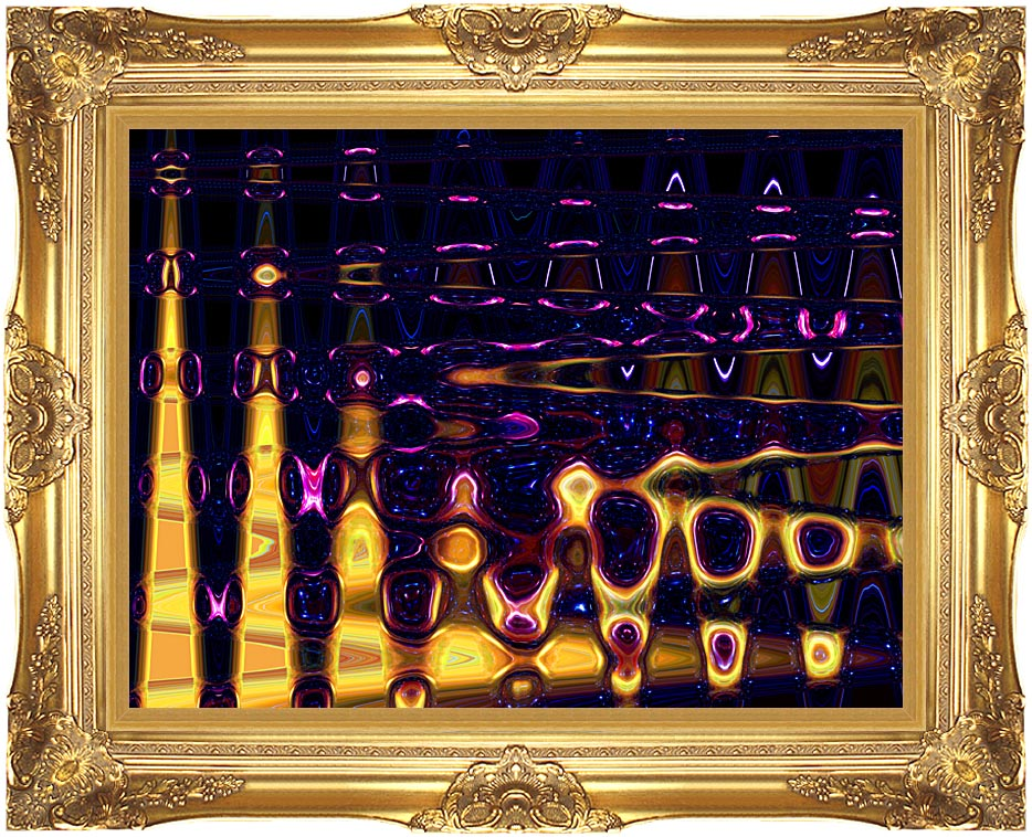 Lora Ashley Electric Motion with Majestic Gold Frame