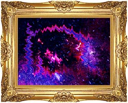 Lora Ashley Thinking Of Your Touch canvas with Majestic Gold frame