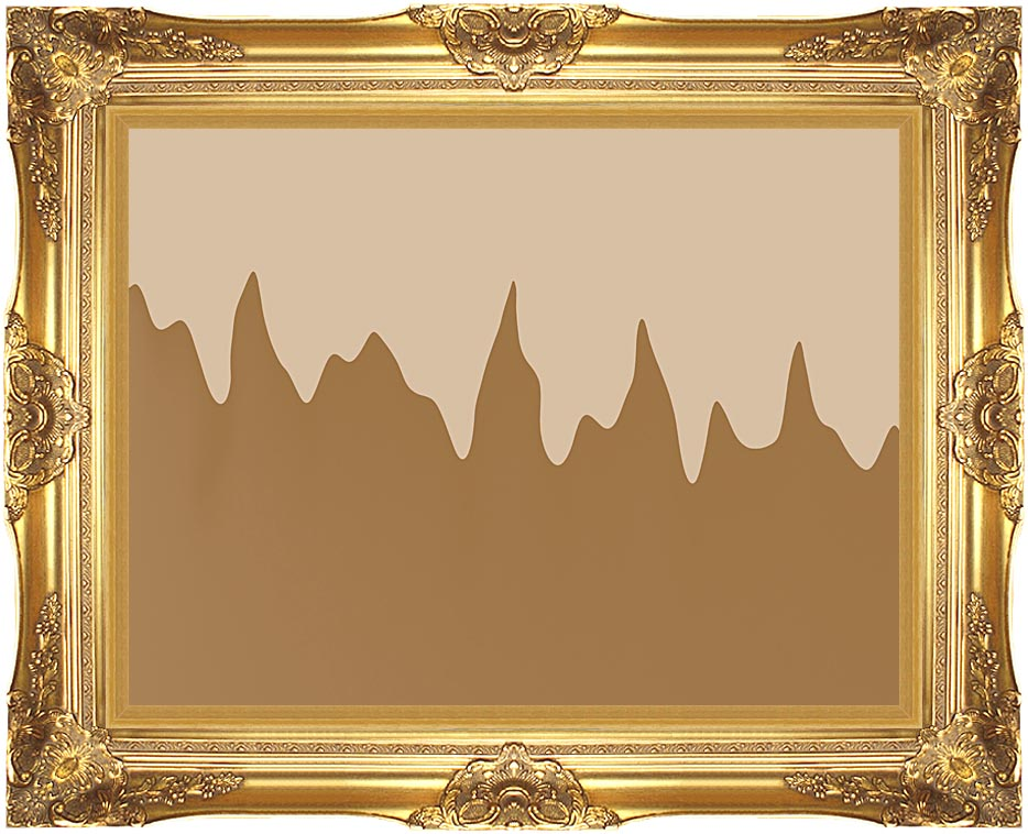 Lora Ashley Modern Chocolate with Majestic Gold Frame