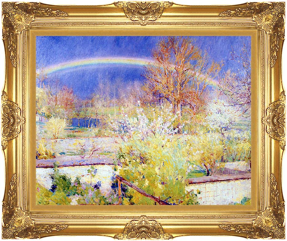 William Blair Bruce The Rainbow with Majestic Gold Frame