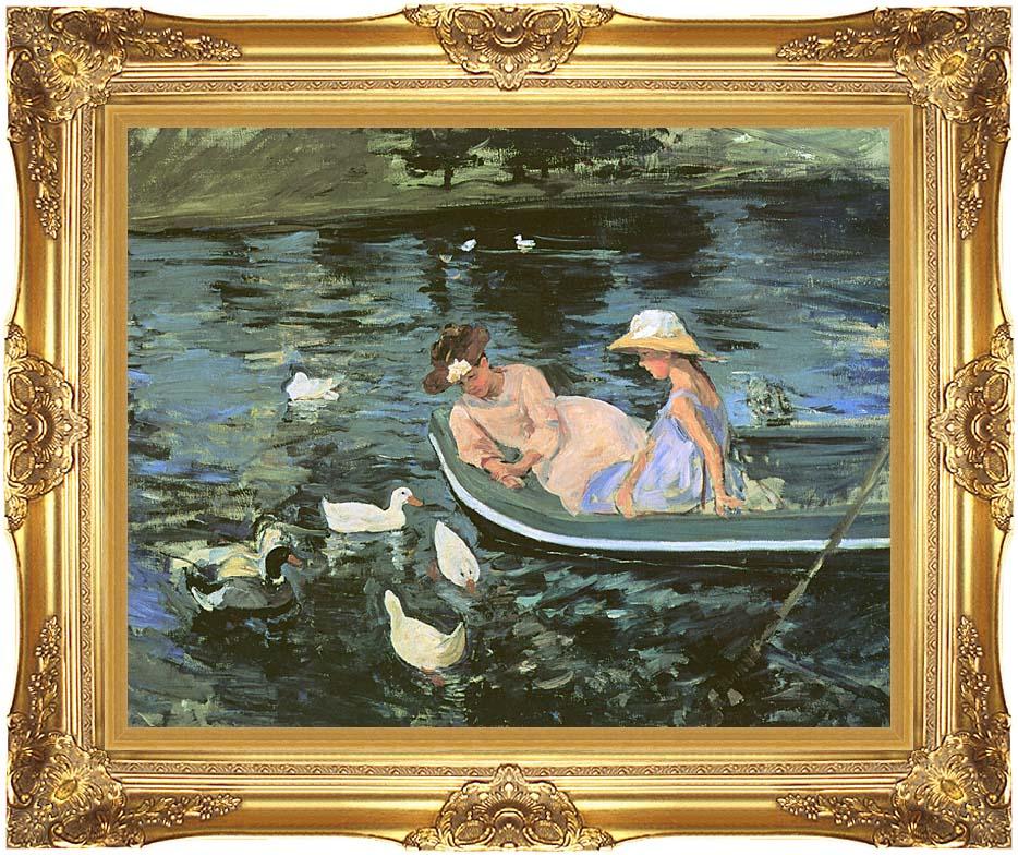 Mary Cassatt Summertime with Majestic Gold Frame
