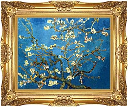 Vincent Van Gogh Almond Blossom canvas with Majestic Gold frame