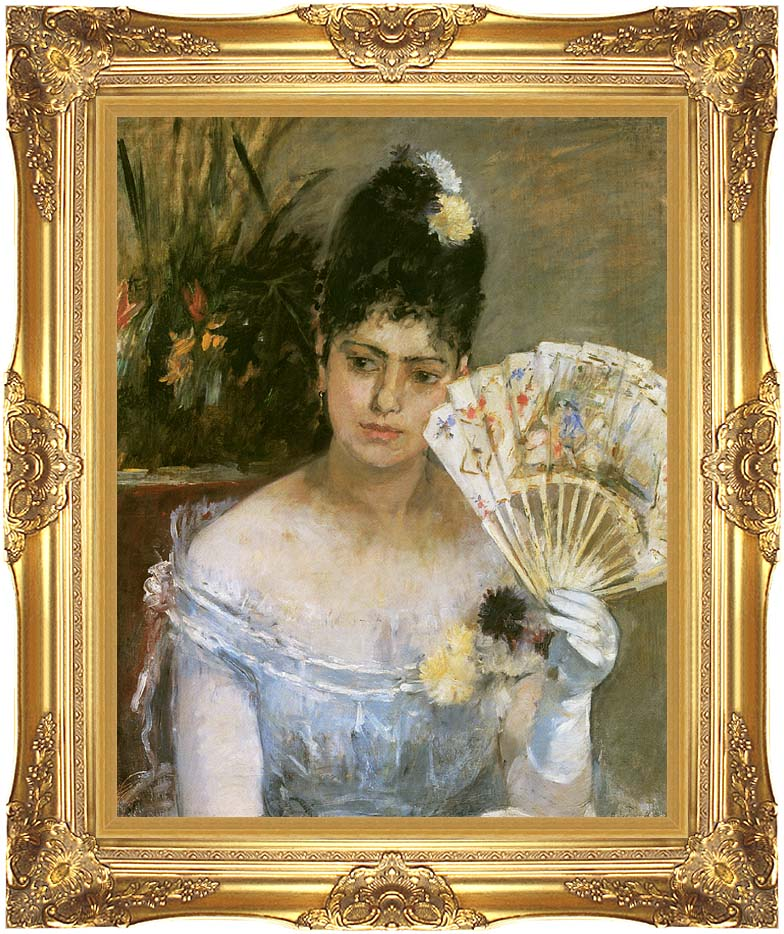 Berthe Morisot At the Ball with Majestic Gold Frame