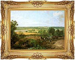 John Constable View Of Dedham canvas with Majestic Gold frame