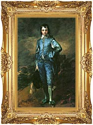 Thomas Gainsborough The Blue Boy canvas with Majestic Gold frame