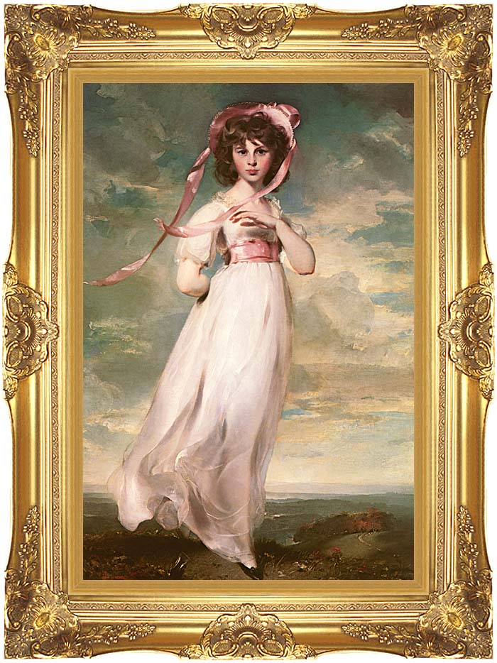 Thomas Lawrence Pinkie with Majestic Gold Frame