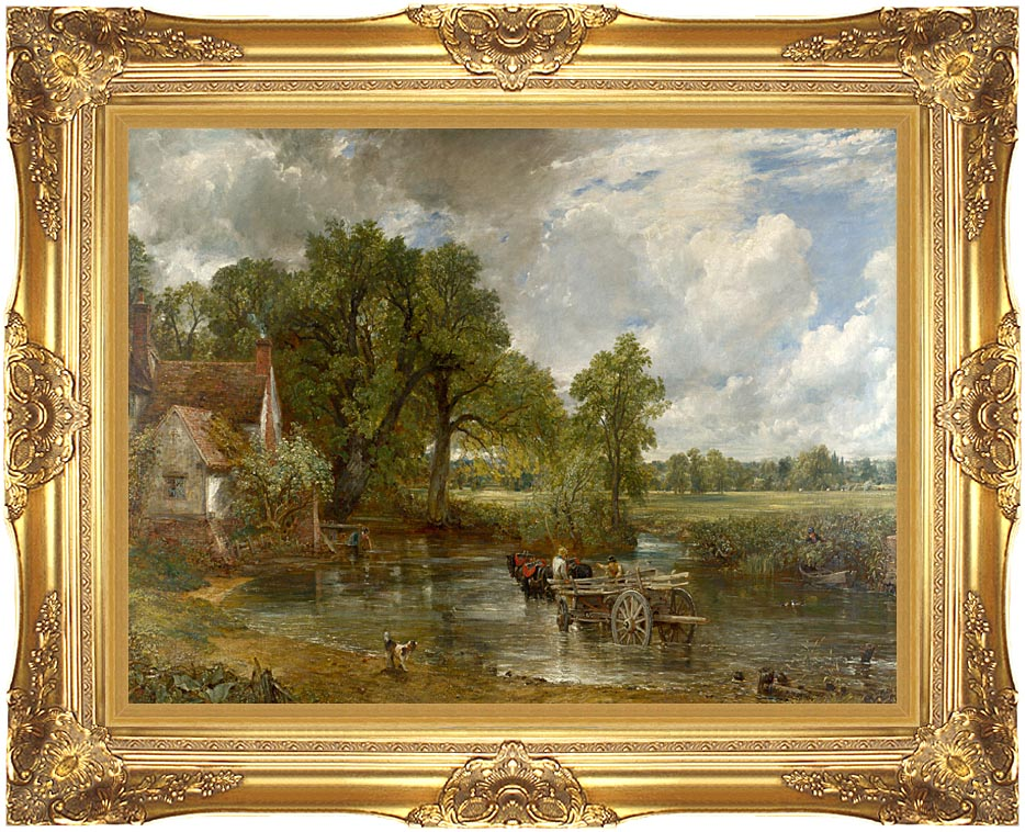 John Constable The Hay Wain with Majestic Gold Frame