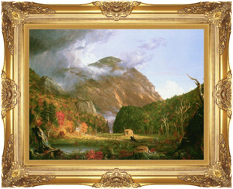Thomas Cole The Notch of the White Mountains with Majestic Gold Frame