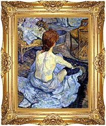 Rousse, La Toilette Framed Art