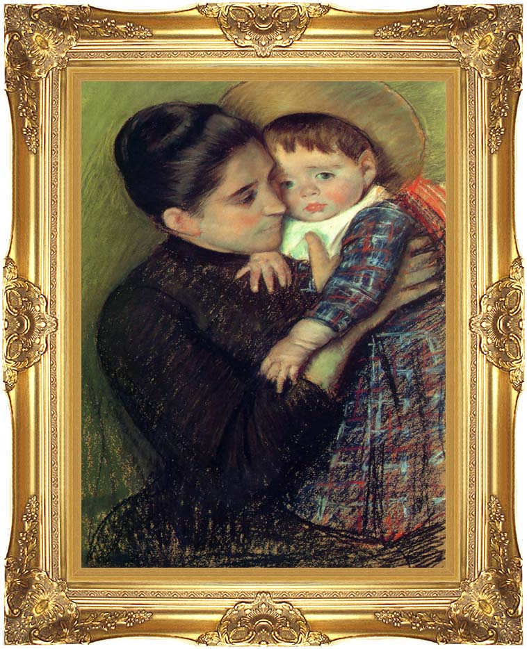 Mary Cassatt Helene de Septeuil with Majestic Gold Frame