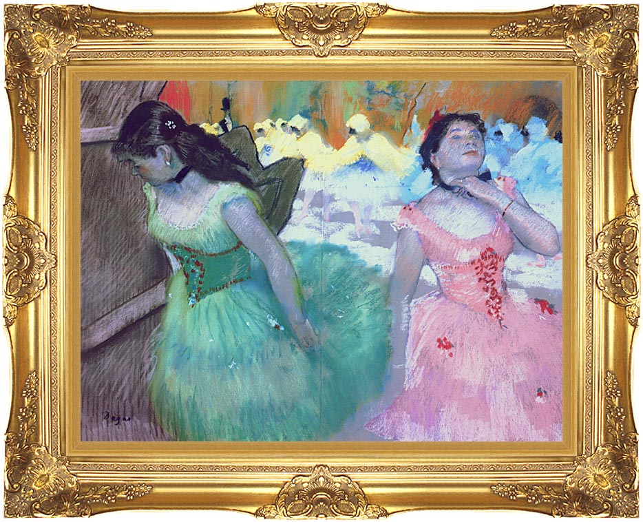 Edgar Degas The Entry of the Masked Dancers with Majestic Gold Frame