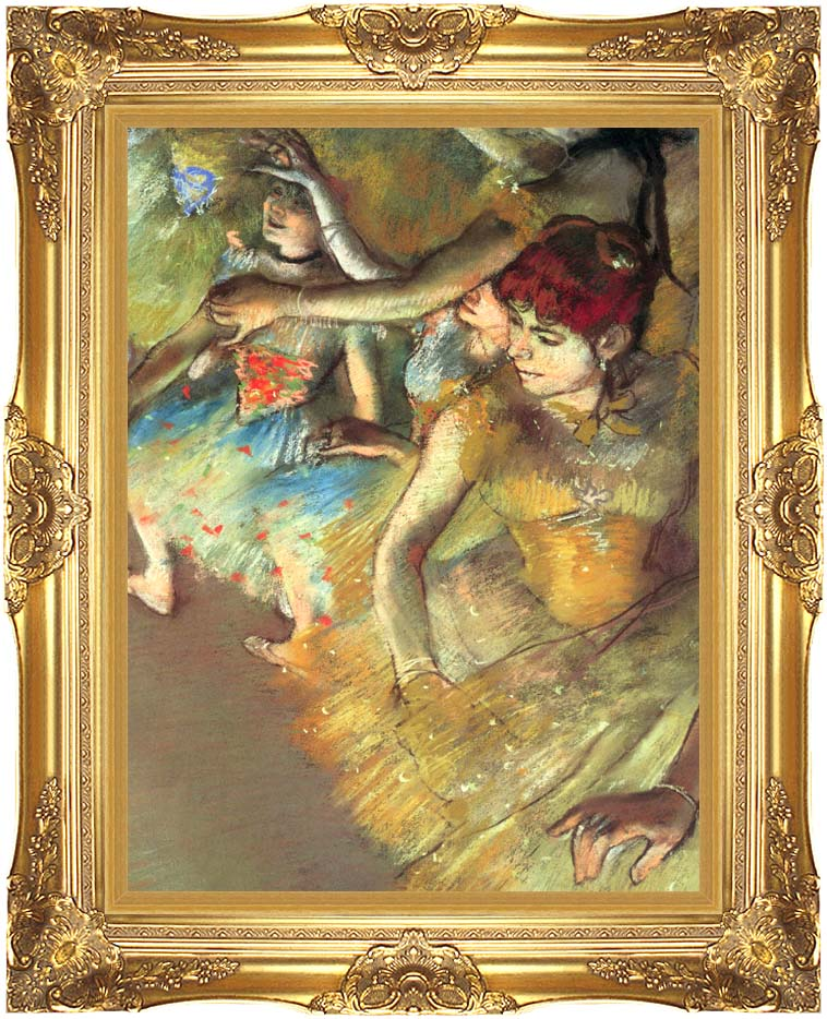 Edgar Degas Dancers with Majestic Gold Frame