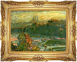 Claude Monet The Tuileries Study canvas with Majestic Gold frame