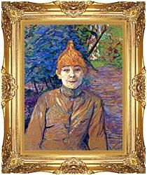 Henri De Toulouse Lautrec The Streetwalker canvas with Majestic Gold frame