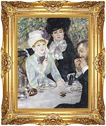 Pierre Auguste Renoir After The Luncheon canvas with Majestic Gold frame