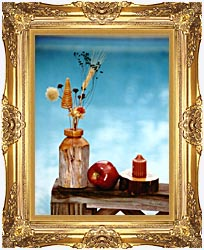 Ray Porter Autumn Still Life canvas with Majestic Gold frame