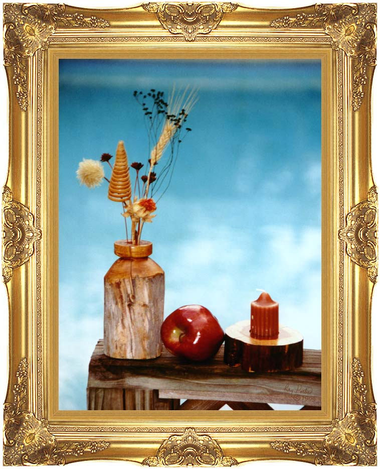 Ray Porter Autumn Still Life with Majestic Gold Frame
