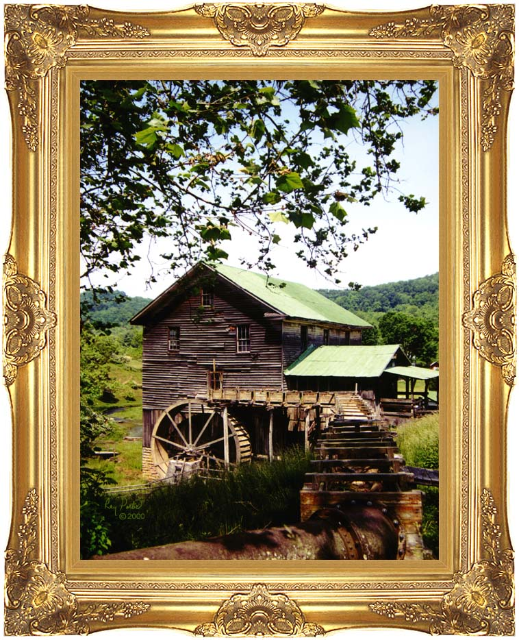 Ray Porter Old Mill with Majestic Gold Frame