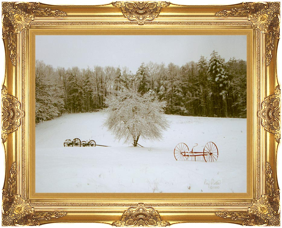 Ray Porter Crystal Tree with Majestic Gold Frame