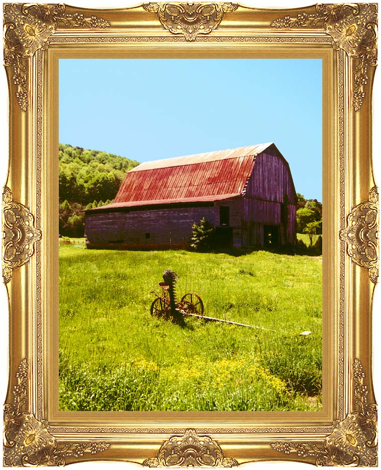 Ray Porter Country Springtime with Majestic Gold Frame