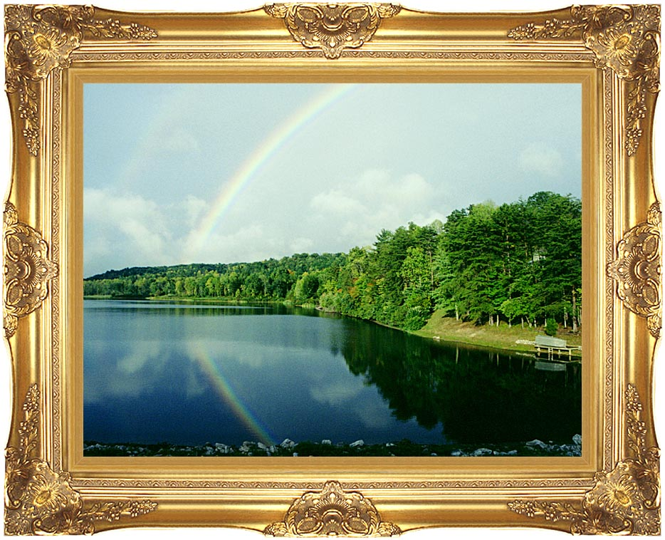 Ray Porter Rainbow with Majestic Gold Frame
