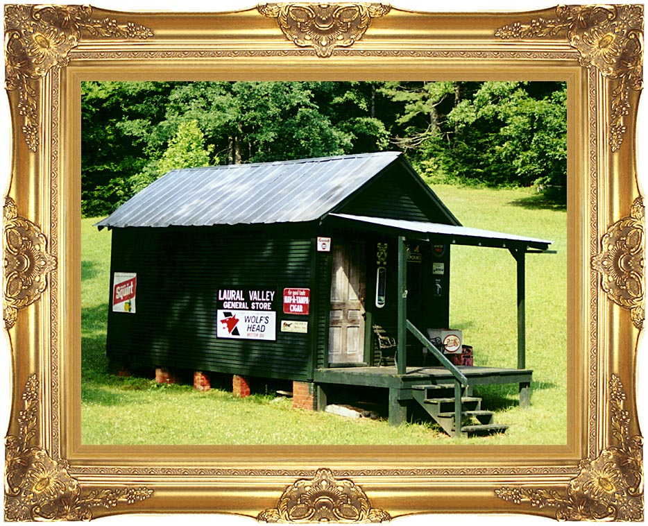 Ray Porter Country Store with Majestic Gold Frame