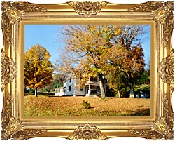 Ray Porter Country House canvas with Majestic Gold frame