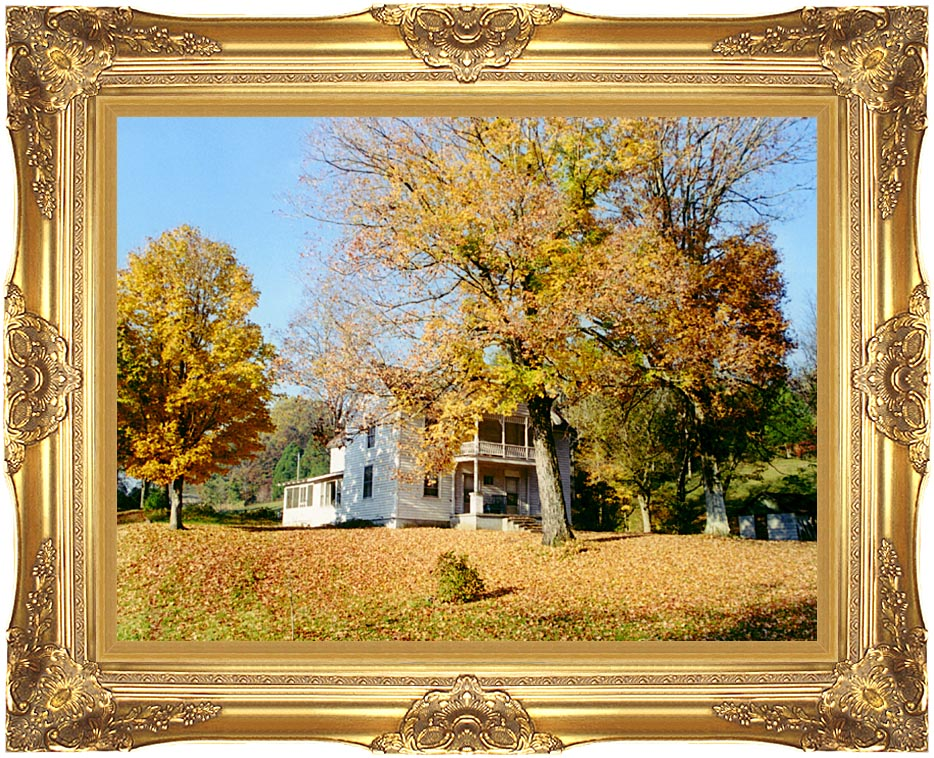 Ray Porter Country House with Majestic Gold Frame