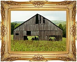Ray Porter Tennessee Playhouse canvas with Majestic Gold frame