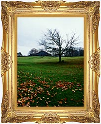 Ray Porter Winters Nye canvas with Majestic Gold frame