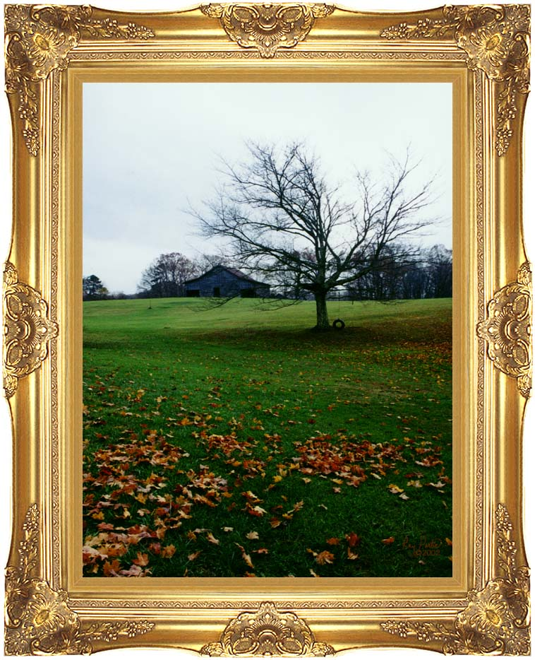 Ray Porter Winter's Nye with Majestic Gold Frame