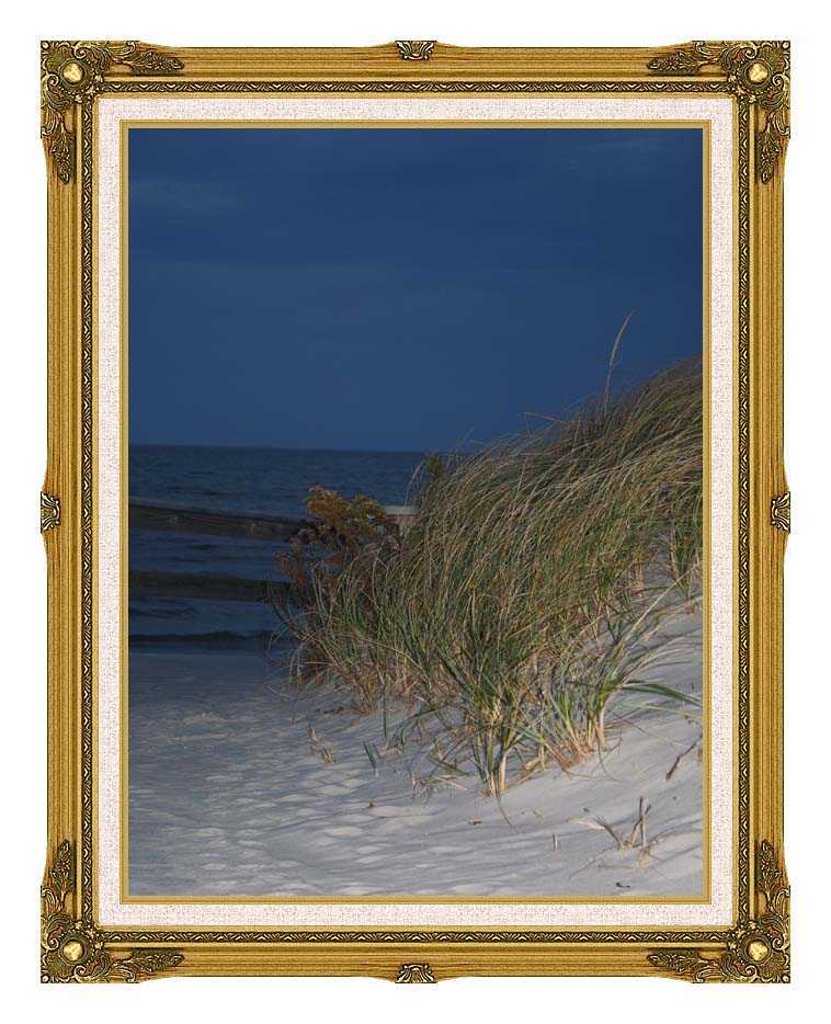 Kim O'Leary Photography Night Dunes with Museum Ornate Frame w/Liner