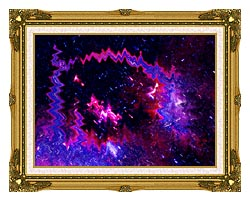 Lora Ashley Thinking Of Your Touch canvas with museum ornate gold frame