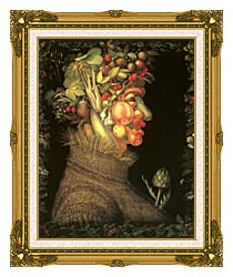 Giuseppe Arcimboldo Summer canvas with museum ornate gold frame