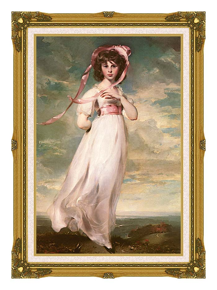 Thomas Lawrence Pinkie with Museum Ornate Frame w/Liner