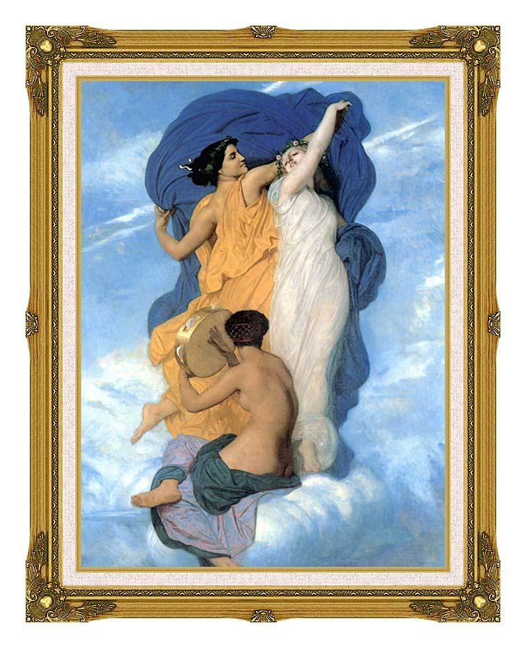 William Bouguereau The Dance with Museum Ornate Frame w/Liner