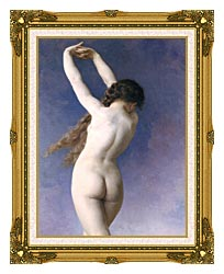 William Bouguereau The Lost Pleiad Detail canvas with museum ornate gold frame