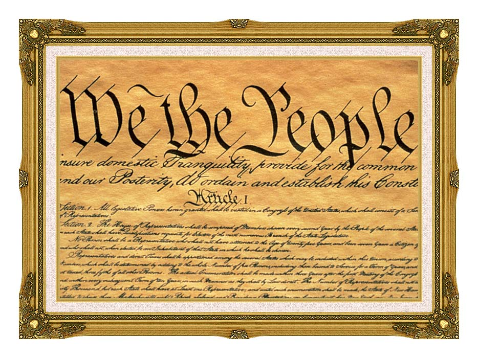 Visions of America Preamble to the U S Constitution - We the People ...